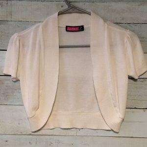 Children's shrug cover up sweater.